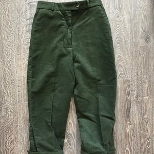 William & Son Green Wool Pants Size 6